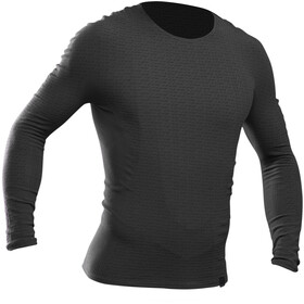 GripGrab Freedom Seamless Thermal Couche de base manches longues, black